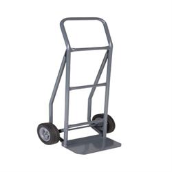 "Handtruck, Grey, 8"" Semi-Pneum Wheels #550 Capacity"
