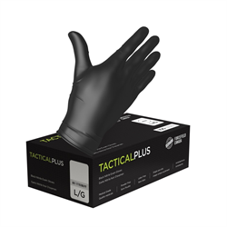 Black nitrile gloves, 5 mil, powder free, Small 100/box (10 box/case)