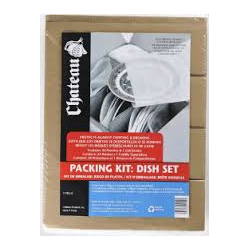 Dish Pack - Small - Fits 1.5 Cube Box (24 Pouches + Cell Divider)