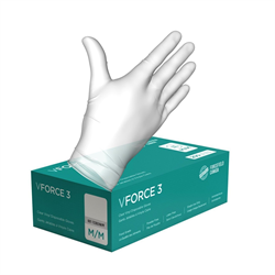 Gloves, vinyl, 3mil,x- large, 200/box (10/cs)