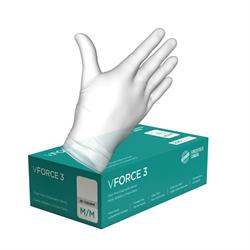 Gloves, vinyl, 3mil, medium, 200/box (10/cs)