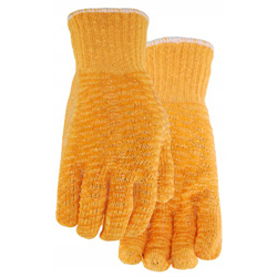 Gripper Gloves, Poly/Cotton Blend w/PVC Criss Cross (State Size)