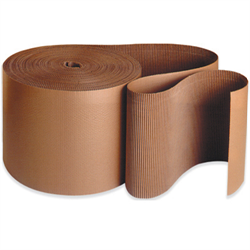 Corrugated Single Face Rolls, C Flute 12 X 250' Roll