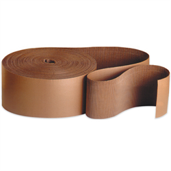 Corrugated Single Face Rolls, C Flute 6 X 250' Roll