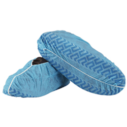 Shoe Covers, Saf-T-Pro Blue or White Disposable